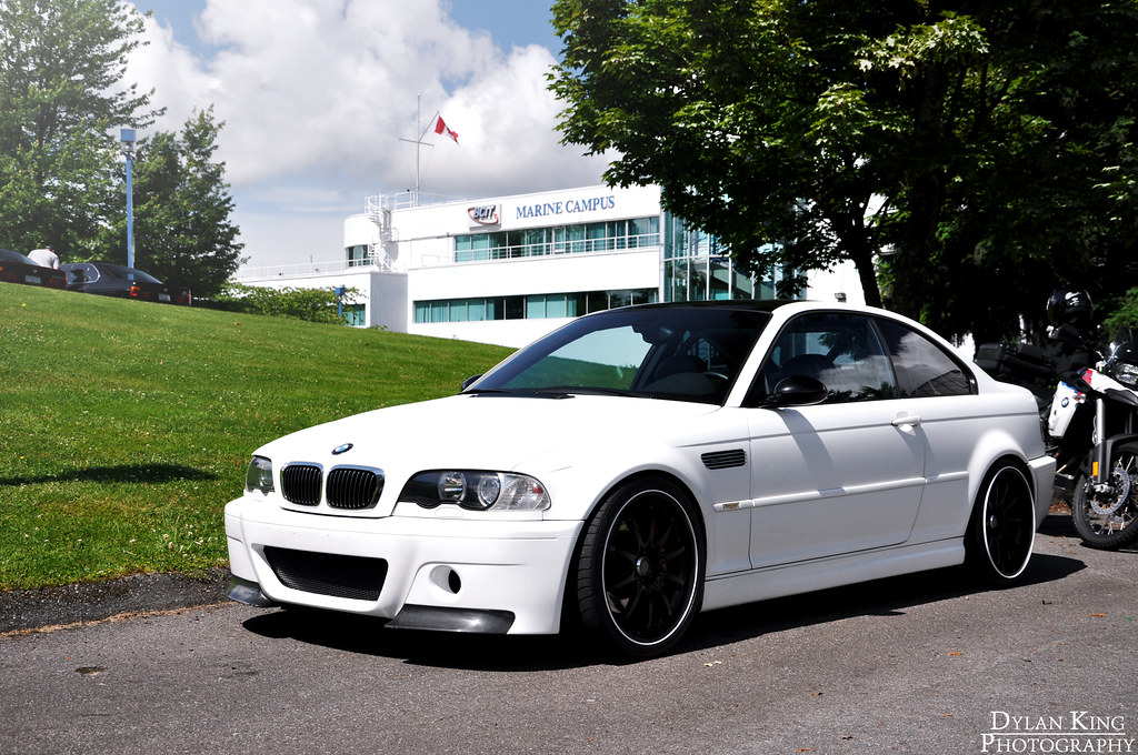 Matte White Bmw E46 M3 Check Out My Facebook Page Flickr