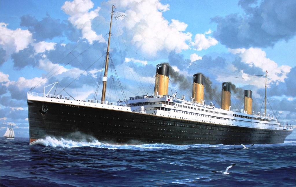 Titanic Painting Thefoxsays Flickr