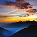Sunset at Mt. Hehuan 夕彩合歡@合歡山