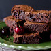 roasted cherry brownies 2