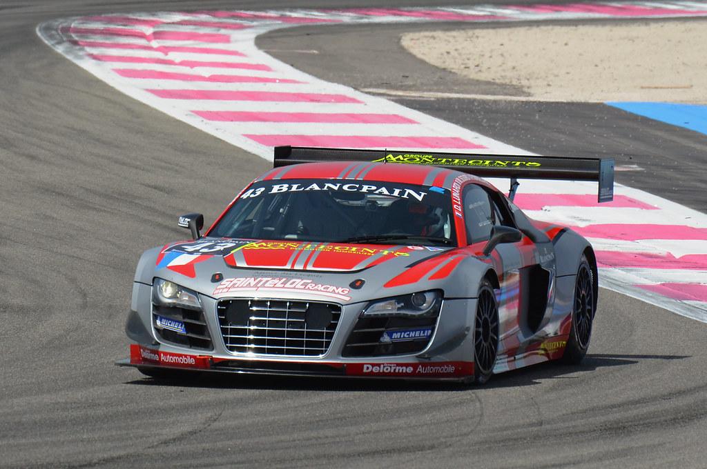 Audi R8 LMS Ultra | Blancpain Endurance Series - Circuit Pau… | Flickr