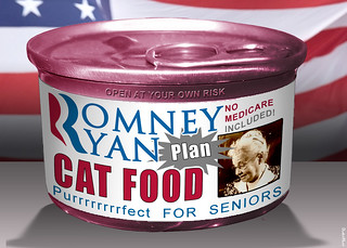Romney Ryan Plan Cat Food | by DonkeyHotey