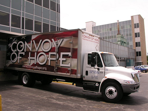 Convoy of Hope Truck Convoy of Hope Truck at