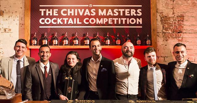 The Chivas Masters UK finalists 2016