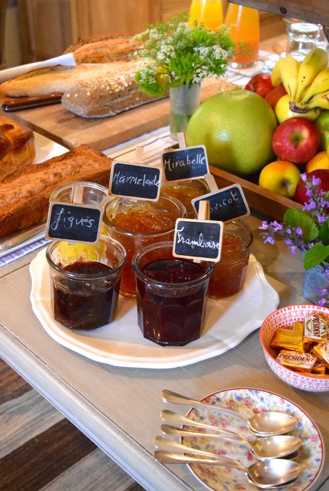 Homemade Jams at Manoir de Malagorse | www.rachelphipps.com @rachelphipps