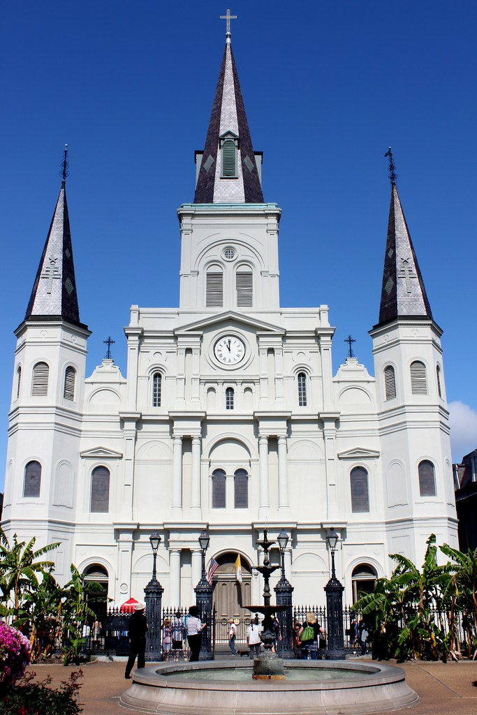 St Louis Cathedral Nola New Orleans Louisiana Flickr