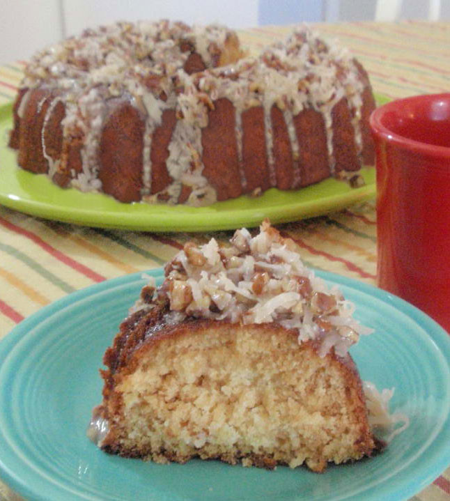 Coconut Slice Cake Recipe