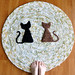 Two Cat Rug