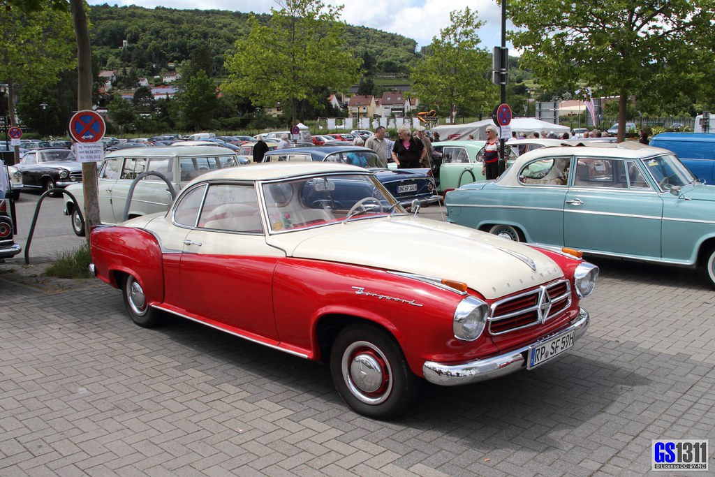 1957 1962 Borgward Isabella Coupe The Borgward