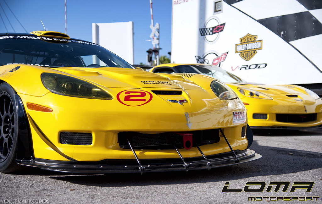 Corvette Gt2 Z06 Wide Body Race Car By Loma 174 Motorsports