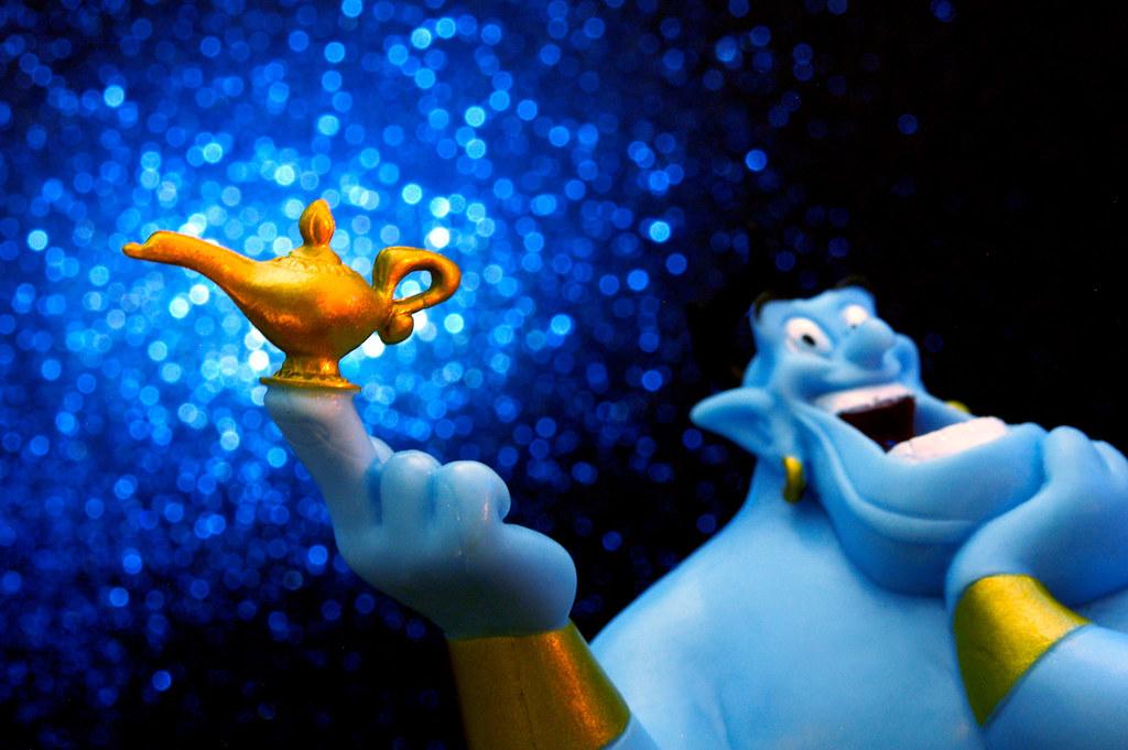 The Genie Shows Aladdin Howu2026   Flickr