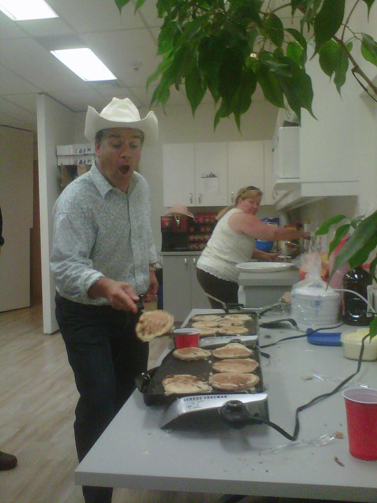 Calgary Stampede Pancake Breakfast Pancake Expert Jan