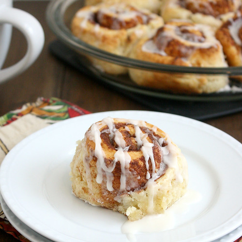 Cinnamon Swirl Cream Biscuits | by Tracey's Culinary Adventures