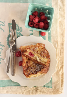 White Chocolate & Raspberry Brioche French Toast | by raspberri cupcakes
