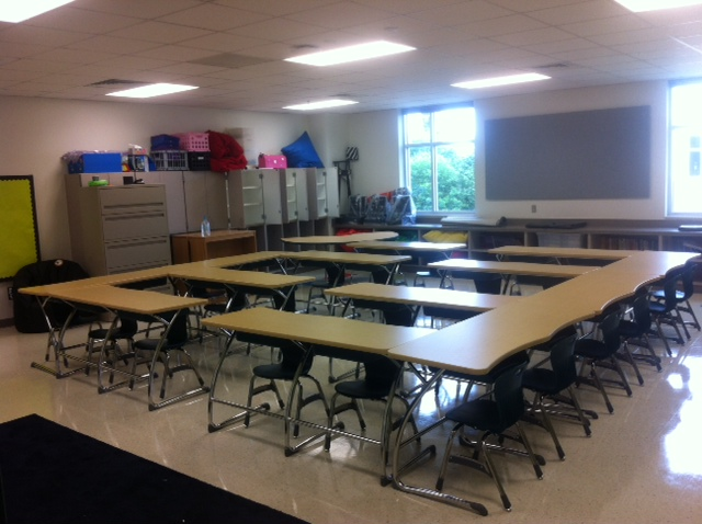 Z Arrangement Classroom Design Disadvantages ~ The desk arrangement i chose lbrad flickr