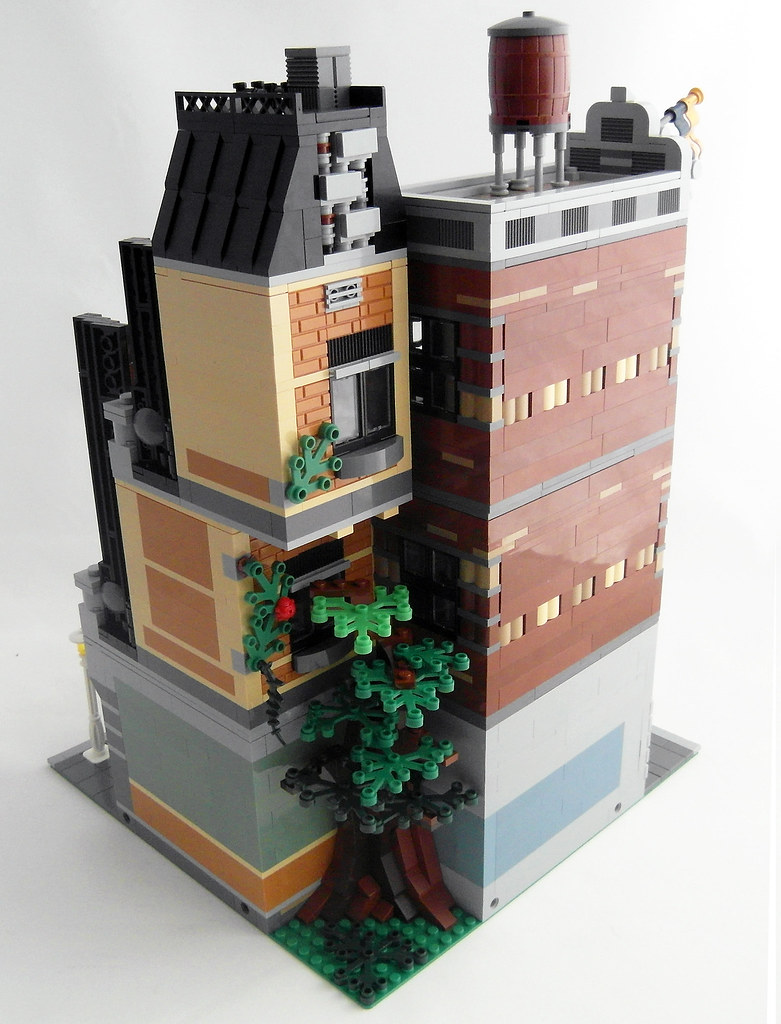 Terrace Apartment Back My Entry For The Eurobricks