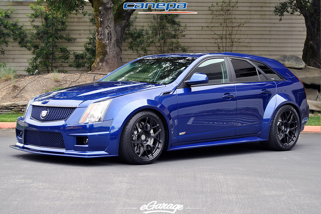 Cadillac Cts Wagon For Sale >> HRE wheels Cadillac CTS-V | MORE: www.egarage.com/car-profil… | Flickr
