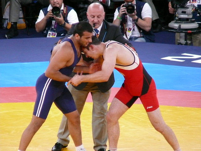 Greco-Roman Wrestling | Flickr - Photo Sharing!wrestling bulges