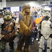 WonderCon 2012 - Gammorrean Guard, a Wookiee, and a Sandtrooper