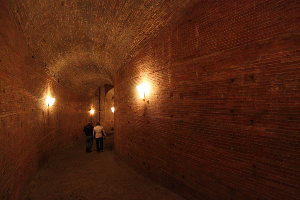 Inside The Castel Sant Angelo The Mausoleum Of Hadrian