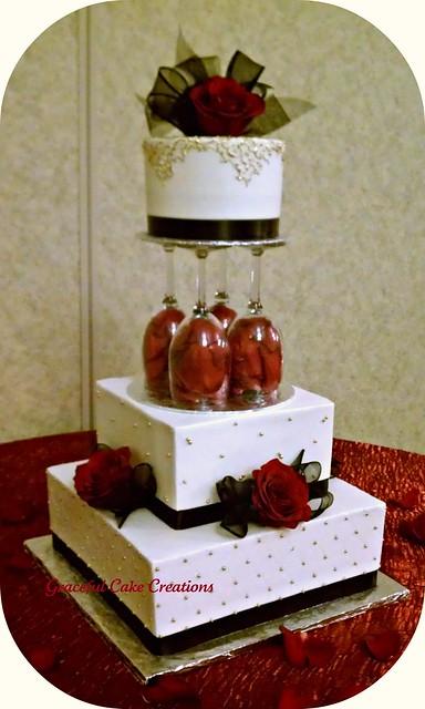 Paper Wedding Cake Craft