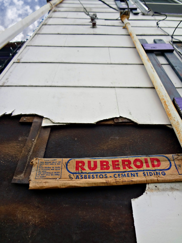 Ruberoid Asbestos Cement Siding Shingles Residential