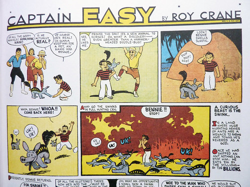 Captain Easy, Soldier of Fortune: The Complete Sunday Newspaper Strips Vol. 3 (1938-1940) by Roy Crane - detail | by fantagraphics