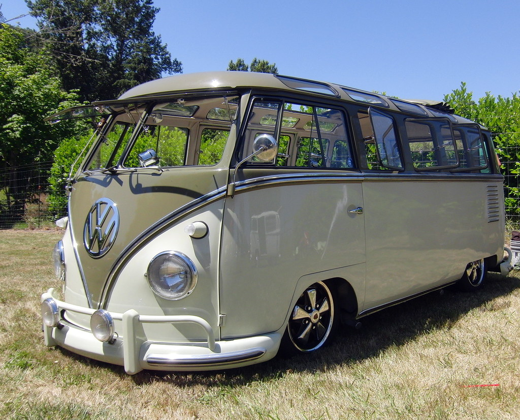 23 Window Vw Bus Rare Twenty Three Window Count Em Vw