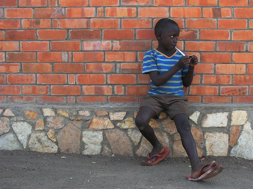 Portrait of a boy in Entebbe | by World Bank Photo Collection