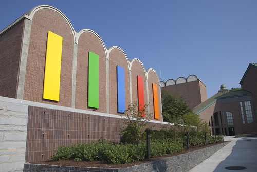 Sculpture by Artist Ellsworth Kelly Installed at Dartmouth | by Dartmouth Flickr