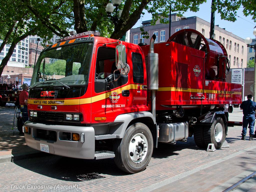 Seattle fire dept gmc mobile ventilation unit mvu 1 for Washington motor vehicle report