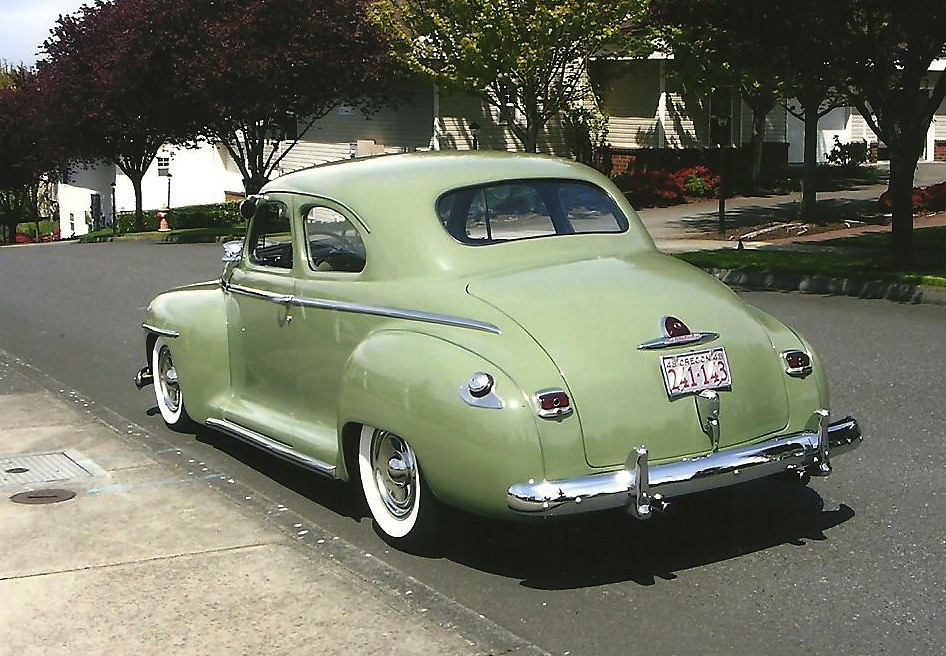 1948 Plymouth Club Coupe Hot Rod For Sale Rear Bring A