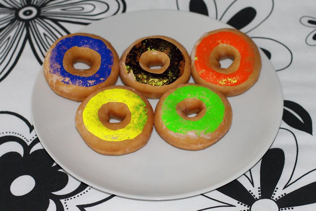 Olympic Ring Donuts Jia Jiang