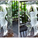 DSCF0809 上野夏まつり 氷の彫刻 (crosseye 3D)