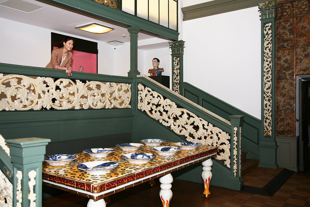 Stijlkamers de goudleerkamer kaile chung in m 39 n for Melchior interieur den haag