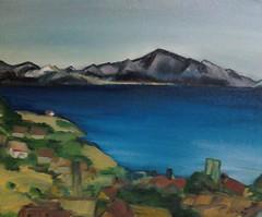 Frank Justin Gonski Art mountain valley2