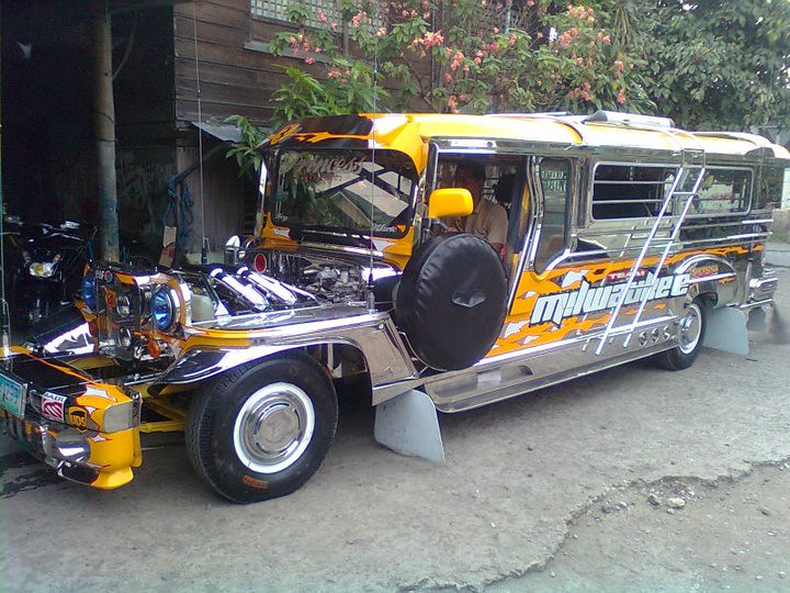 Milwaukee Jeepney Made By Milwaukee Motors In Imus