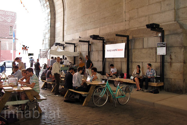 Loosecubes 39 co working space in dumbo brooklyn nyc flickr photo sharing - Small office space nyc concept ...