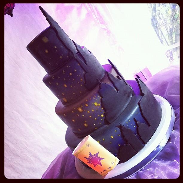 Tangled Wedding Cake Topper Tangled Wedding Cake   by