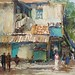 en Plein Air Painting, McKenzie Road
