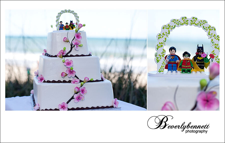 Batgirl Wedding Cake Topper