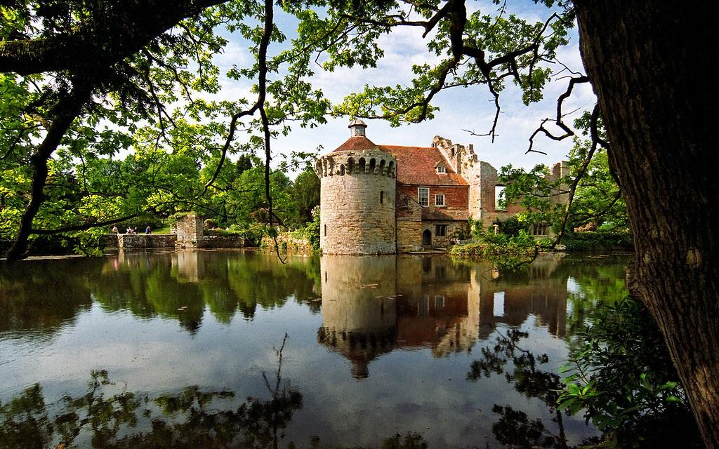 Scotney Castle Landscape Gardens Kent England Romantic