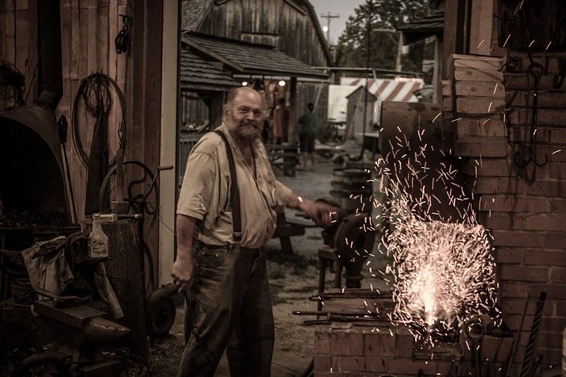 Pioneer blacksmith pioneer land laporte county for Jobs in laporte co