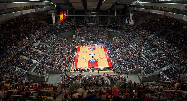 Palacio De Deportes De La Comunidad De Madrid Flickr