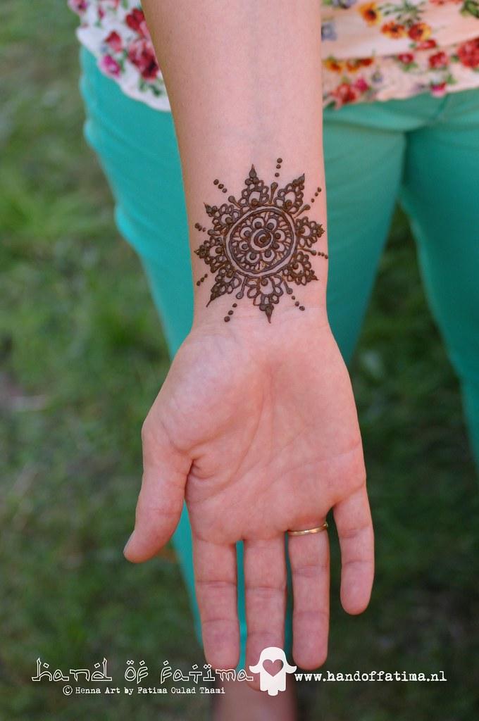 Mehndi Wrist Age : Wrist henna mandala another mandal on the insired