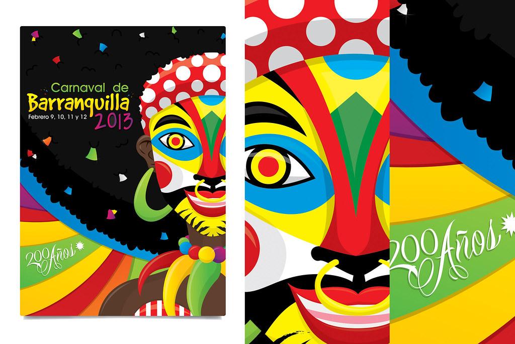 Ilustracion//Propuesta Afiche Carnaval de Barranquilla 201… | Flickr S Logo 3d Wallpaper