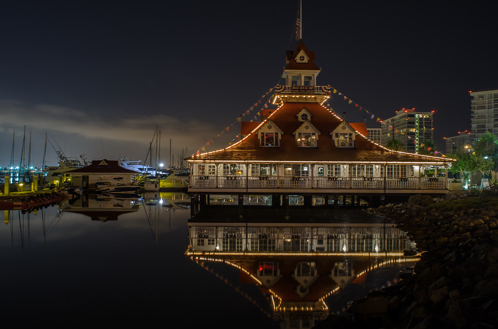 Coronado Boat House Steak And Seafood Restaurant On Glorie Flickr