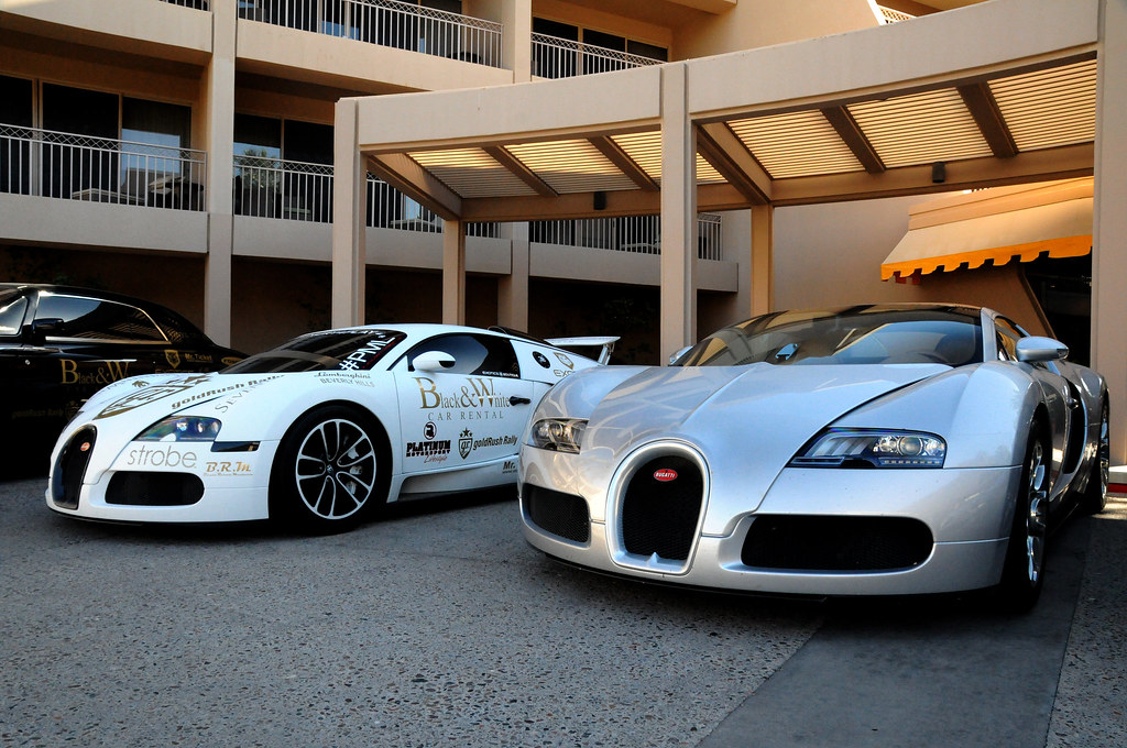 bugatti veyron x 2 at the phoenician o 39 connor photo flickr. Black Bedroom Furniture Sets. Home Design Ideas
