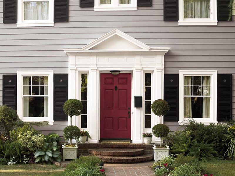 Colonial Inspiration Body Cathedral Gray Ppu18 14 Trim