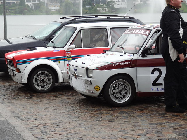 lancia a112 abarth 1982 ze 33 47 fiat 126 abarth 1977 xp 30 flickr photo sharing. Black Bedroom Furniture Sets. Home Design Ideas